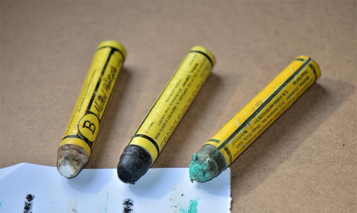 Lapices marcadores de madera b markal paintgstik made in usa