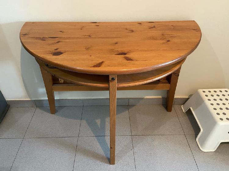 Mesa madera auxiliar abatible