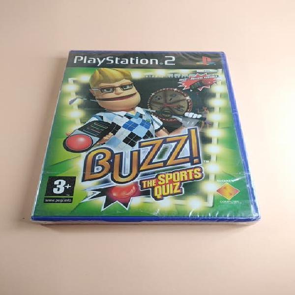 Precintado) buzz the sports quiz ps2