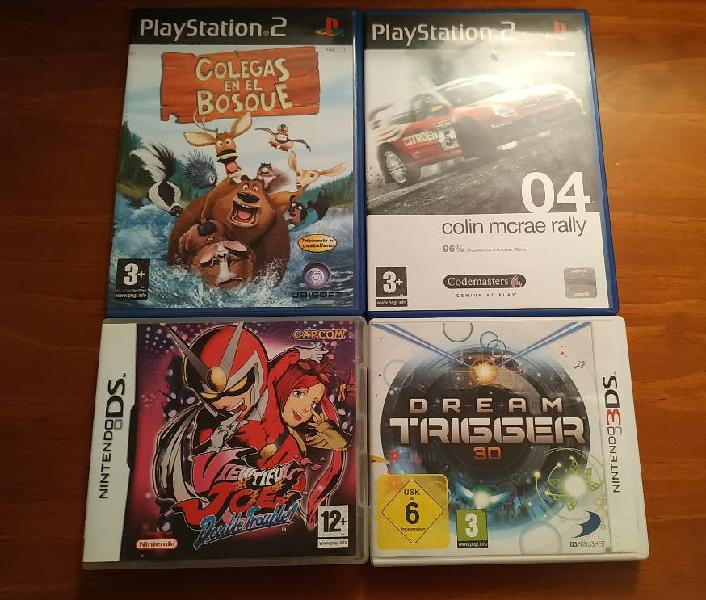 Pack juegos ps2/3ds