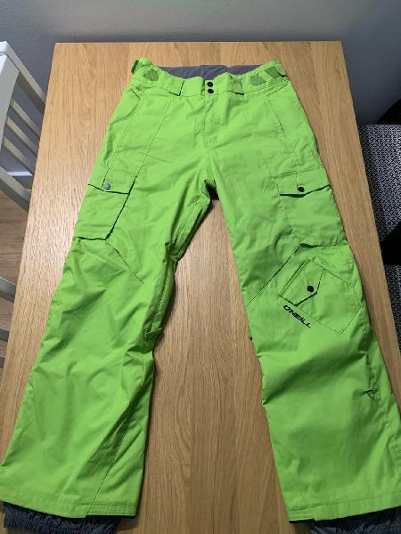 Pantalón snow/esquí oneill talla s hombre