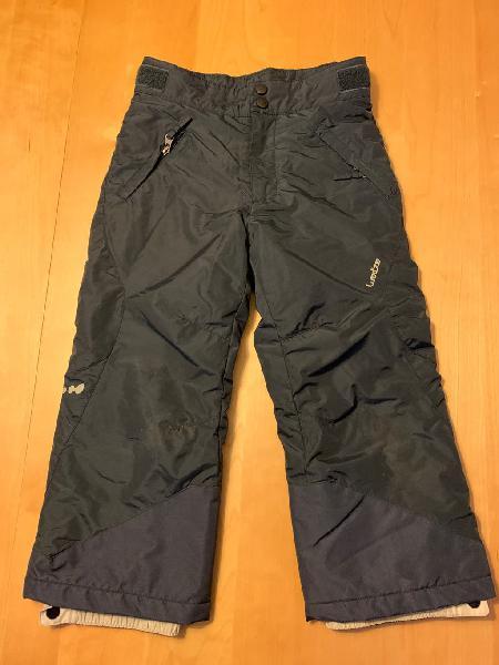 Pantalón de esquí niño azul marino