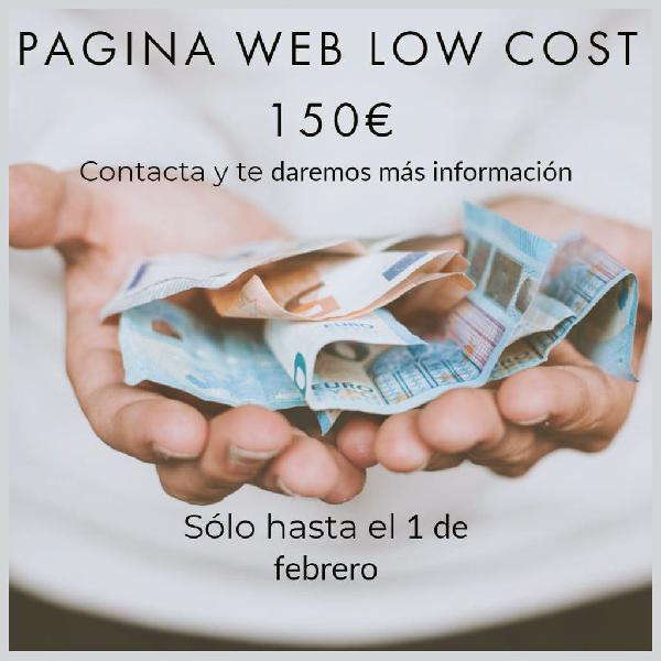 Página web low cost