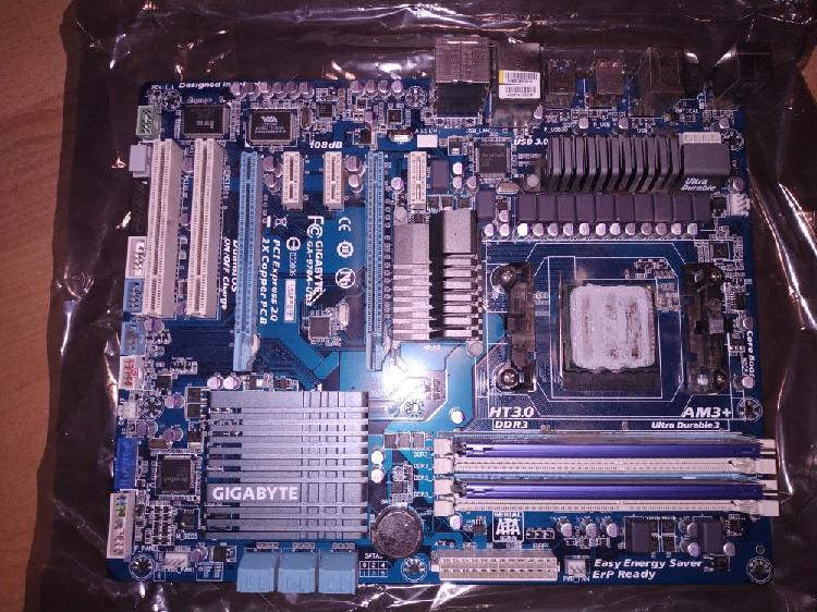 Placa base am3+ con procesador +8gb ram+ disipador