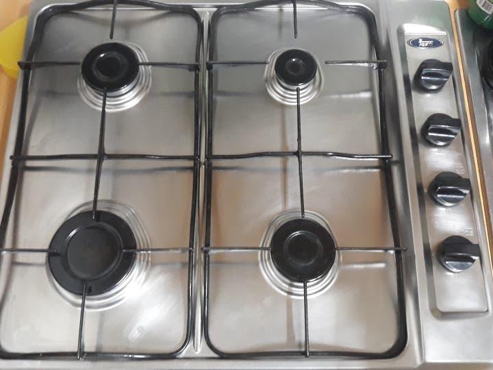 Placa de gas cocina