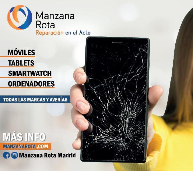 Reparación de smartphones, tablets y ordenadores.
