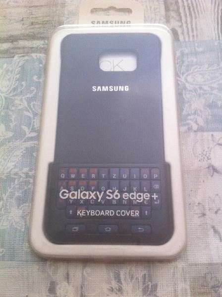 Teclado + carcasa samsung galaxy s6 edge + (nuevo)