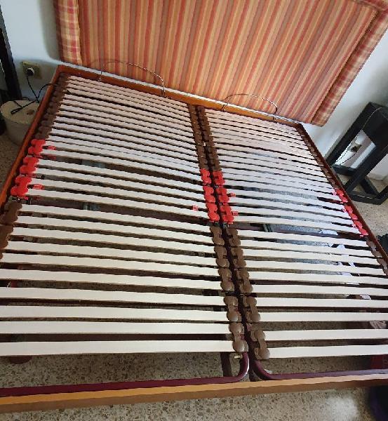 cama doble articulada