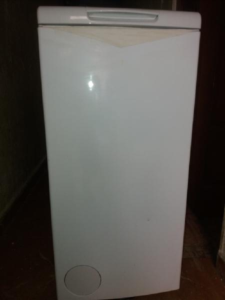 Lavadora carga superior con transpprte