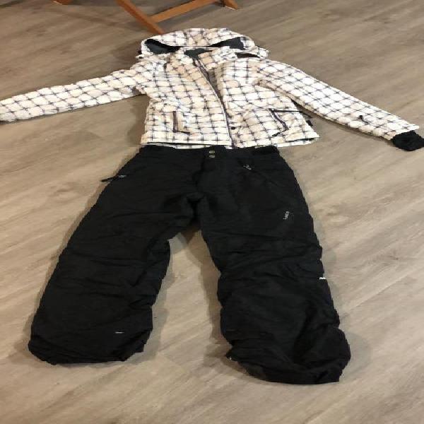 Pantalón nieve negro