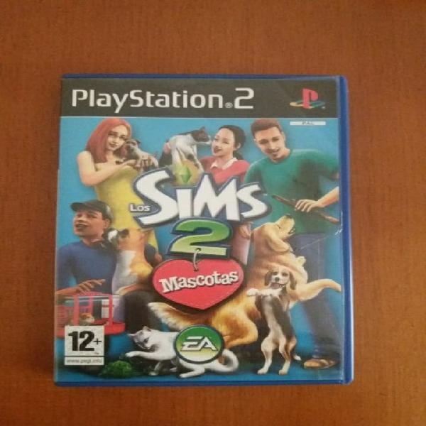 Playstation2 videojuegos los sims mascotas