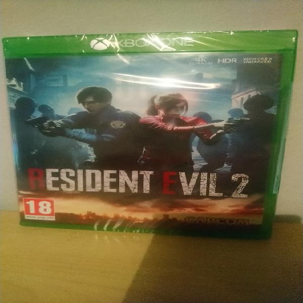 Resident evil 2 xbox one. nuevo a estrenar