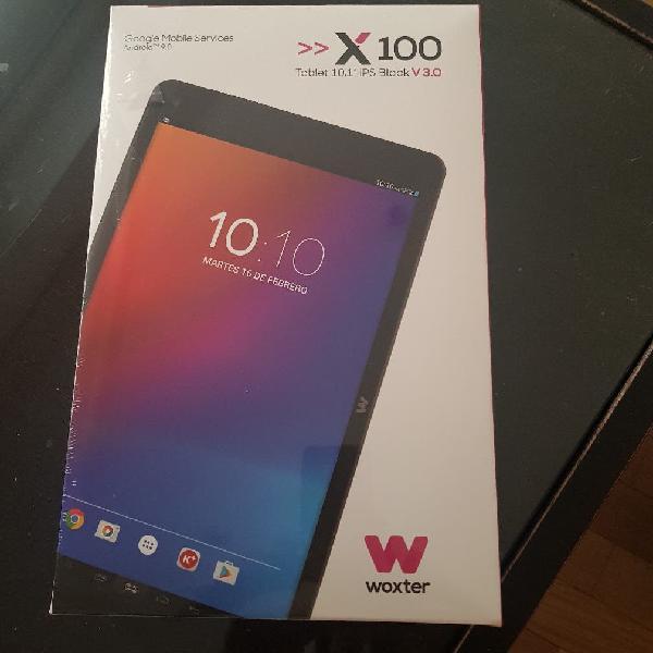 "Tablet woxter x100 precintada! 10.1"" 16gb"