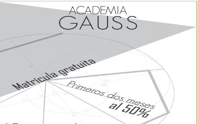 Academia gauss; centro de estudios y apoyo escolar - madrid