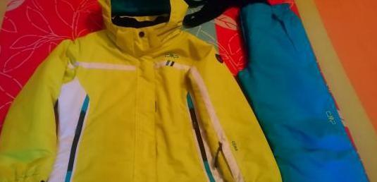 Anorak y pantalon esqui junior cmp