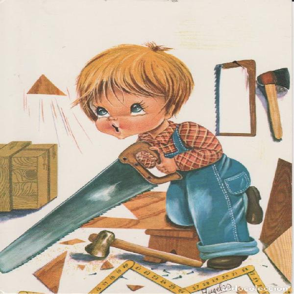 Carpintero de madera