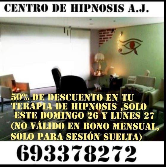 Hipnosis 50% descuento