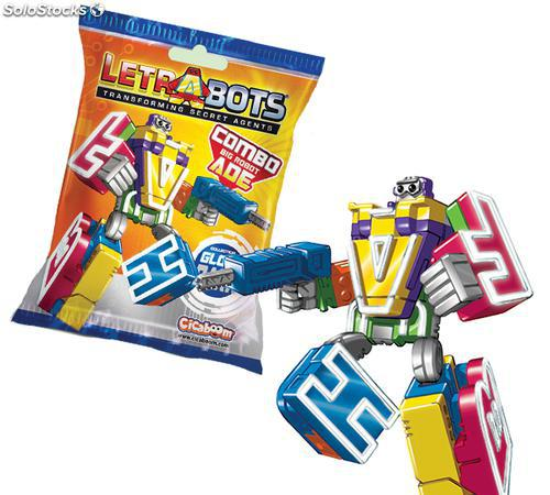 LetraBots Big Robot ADE 419308. Figura. Modelo aleatorio.