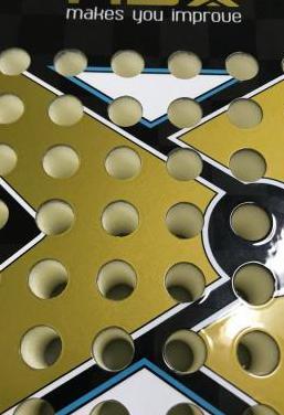 Pala padel nox at10 gold luxury agustin tapia