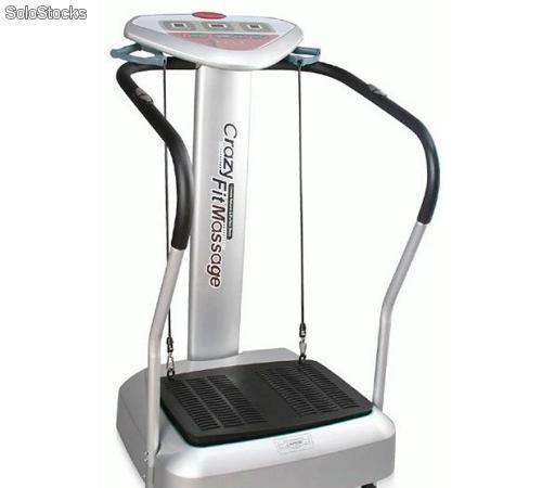 Plataforma vibratoria crazy fit massage
