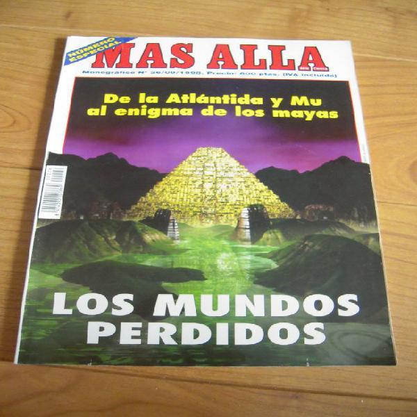 Revista más allá. monográfico nº 26. los mundos perdidos