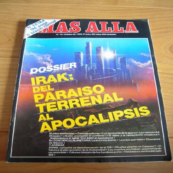 Revista más allá nº 20 dossier irak del paraíso terrenal