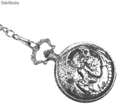 Ref. 07501-206 Christian Gar Reloj Bolsillo c/Cadena