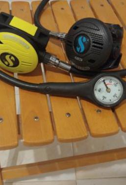Regulador de buceo scubapro mk2