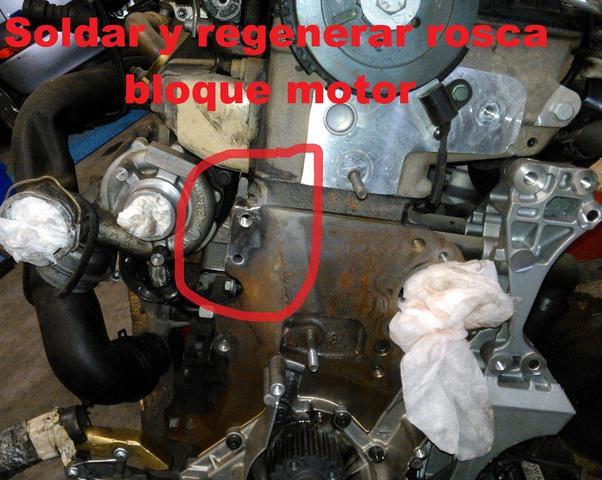 Soldadura block motor, bloque motor de hierro fundido,