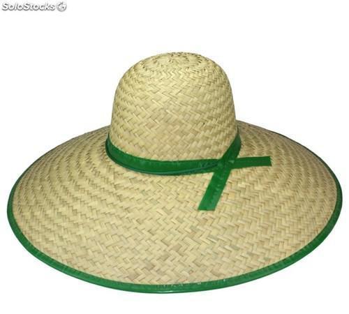 Sombreros de paja campero ala ancha. 50 cms.