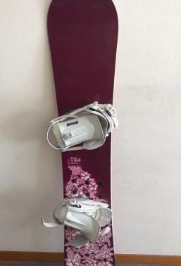 Tabla snow y botas talla 42