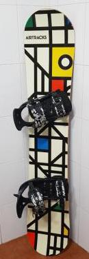 Tabla snowboard regalo guantes