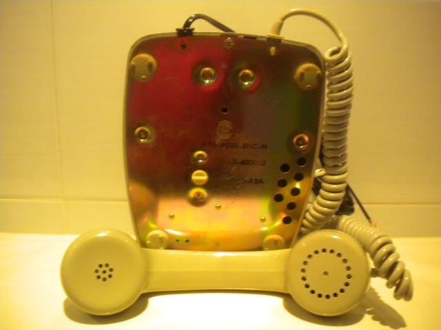 Telefono heraldo con rueda de marcaje