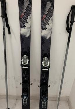 Esquís adulto snowblade, palos y funda