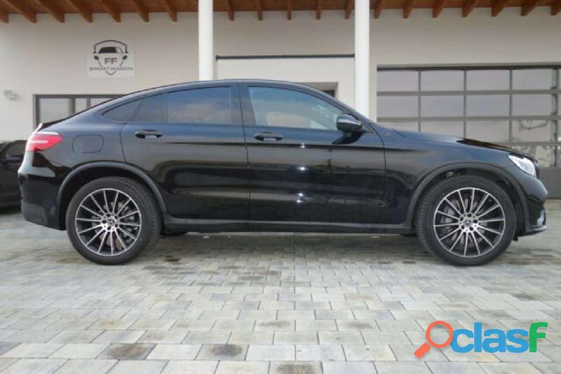 Mercedes benz glc coupé glc 350 d 4matic, negro, año 2018, 40000 km, 11500 eur.