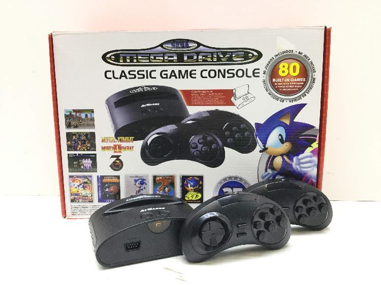 Sega megadrive mini classic 81 juegos