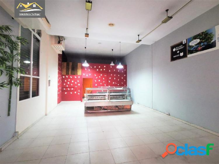 Se alquila local comercial en la mejor zona del barrio del puente (avd. caldas) ref. 3500