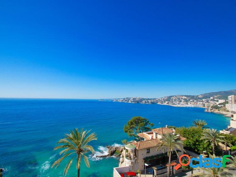 Impresionante casa rústica con impresionantes vistas al mar