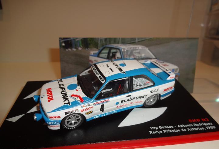1/43. BMW M3. Bassas - Rodriguez. Rallye Principie de