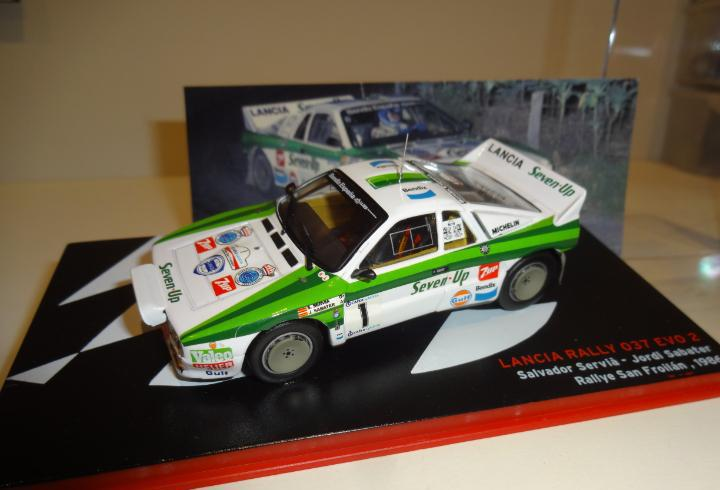 1/43. Lancia 037 EVO 2. Servia - Sabater. Rallye San