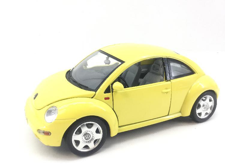 3 % coche metal bburago burago new beetle 1998