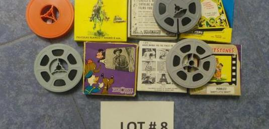 8 mm, old home movies,nº : 8