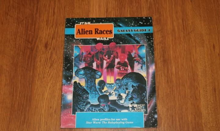 Alien races libro juego rol star wars galaxy guide 4 weg joc