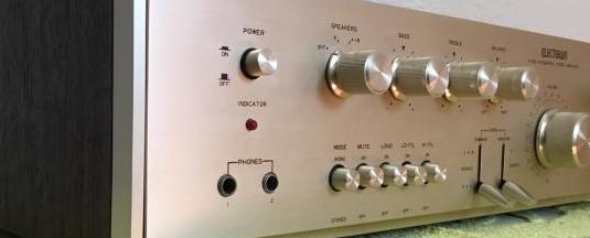 Amplificador vintage hifi electown a-606