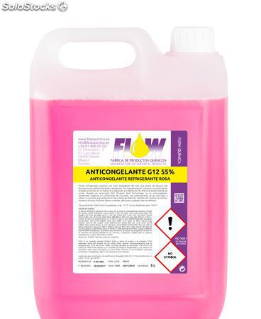 Anticongelante Refrigerante Orgánico G12 55% 5L