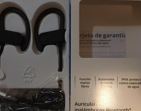 Auriculares bluetooth deporte