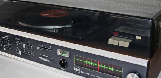 Bettor tocadiscos amplificado,