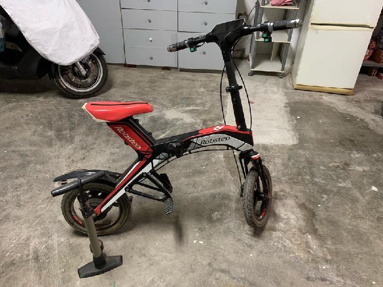 Bicicleta eléctrica robstepx1 roja