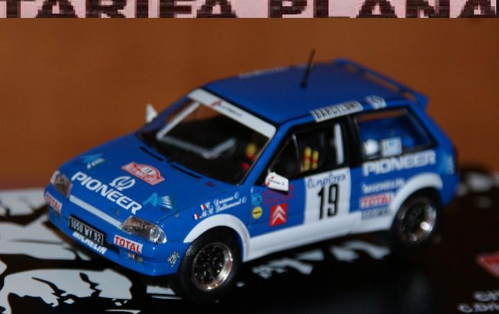 Citroen ax gti rallye de montecarlo 1993 d.driano -