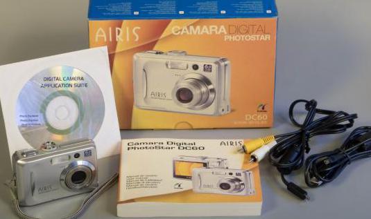 Cámara fotos airis dc60